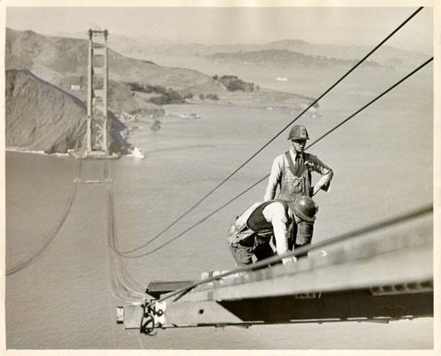Building The Golden Gate Bridge Was a Dangerous Job