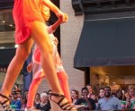 Residents turned out in droves for Fashion's Night Out on Broughton Street