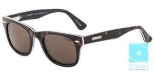 Bill Bass sunglasses, available at Bill Evans Optometrists