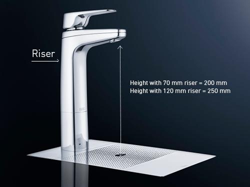 Quadra Plus With Hot Water Mixer Tap Billi Undersink Systems