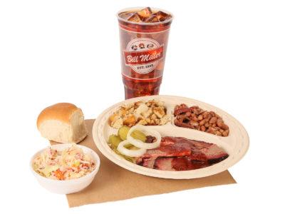 Bill Miller Bar-B-Q Restaurant Serving Famous Texas BBQ