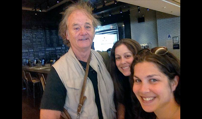 Bill Murray takes JetBlue