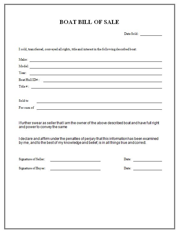 bill of sale form florida - Josemulinohouse - bill of sale form in pdf
