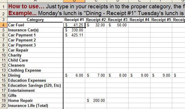 keep track of money 3slufsluidsprekers