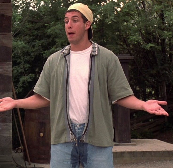 Billy Madison Peeing Your Pants is Cool