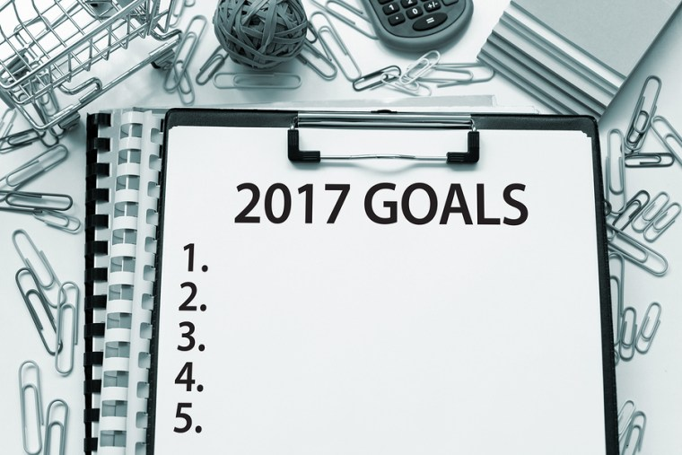 Don't Set Resolutions. Set Goals.