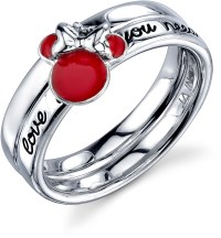 Disney Sterling Silver Red Enamel Love is All You Need ...