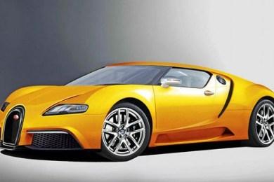Ny Bugatti Veyron i 2013