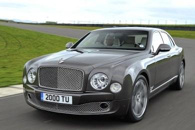 Bentley Mulsanne performance-udgave
