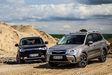 Subaru Forester vs. Mitsubishi Outlander