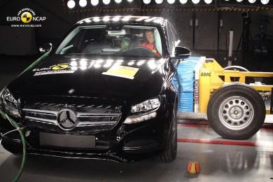 Mercedes C-klasse EURO NCAP