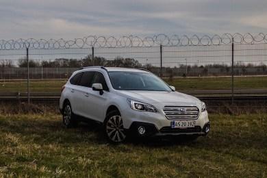 Subaru Outback diesel test