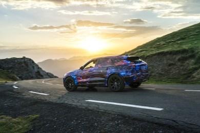 Jaguar F-Pace bliver en meget sportslig SUV!
