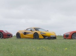 McLaren 570S vs Audi R8 V10 Plus vs Porsche 911 Turbo S