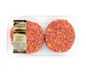 Stetson Cheese Flavoured Beef Burger Patties - Fleisherei Butchery.