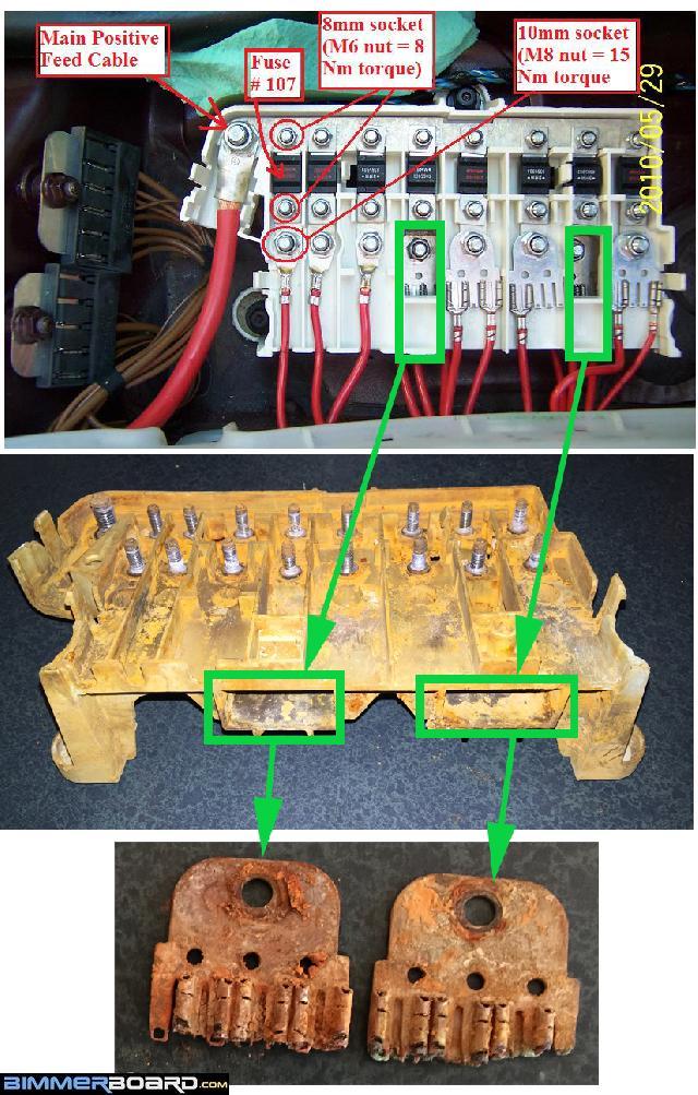 Bmw E39 Fuse Box Guide Wiring Diagram