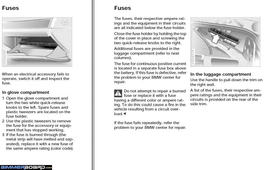 E39 Fuse Box Location Better Wiring Diagram Online
