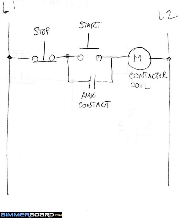 Wiring run/stop switch to mag starter? Off-Topic Discussion forum