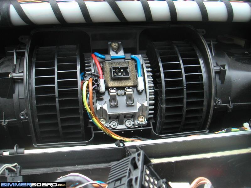 DIY Trouble-shooting HVAC Blower Motor and FSR - Bimmerfest - BMW