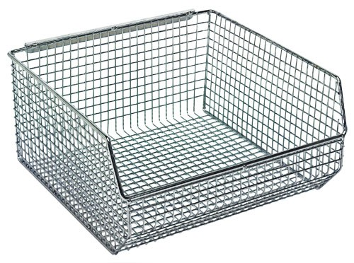 SaveEnlarge · Wire Mesh Stack And Hang Bins ...