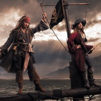 Pirates of the Carribean - Johnny Depp and Patti Smith