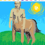 Draw Something - Centaur