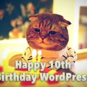 Happy 10th Birthday WordPress