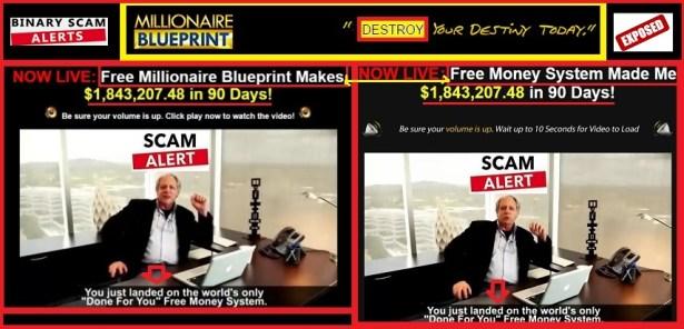 Millionaires Blueprint Scam