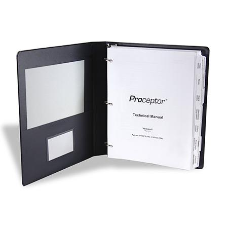 ENTRAPMENT BINDERS Custom Vinyl 3 Ring Binders - 6 inch binders