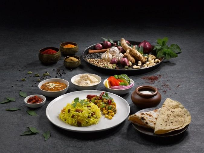 Singapore Airlines_RuchiThali_Vegetarian