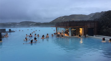 Recharge yourself in the Blue Lagoon- Iceland