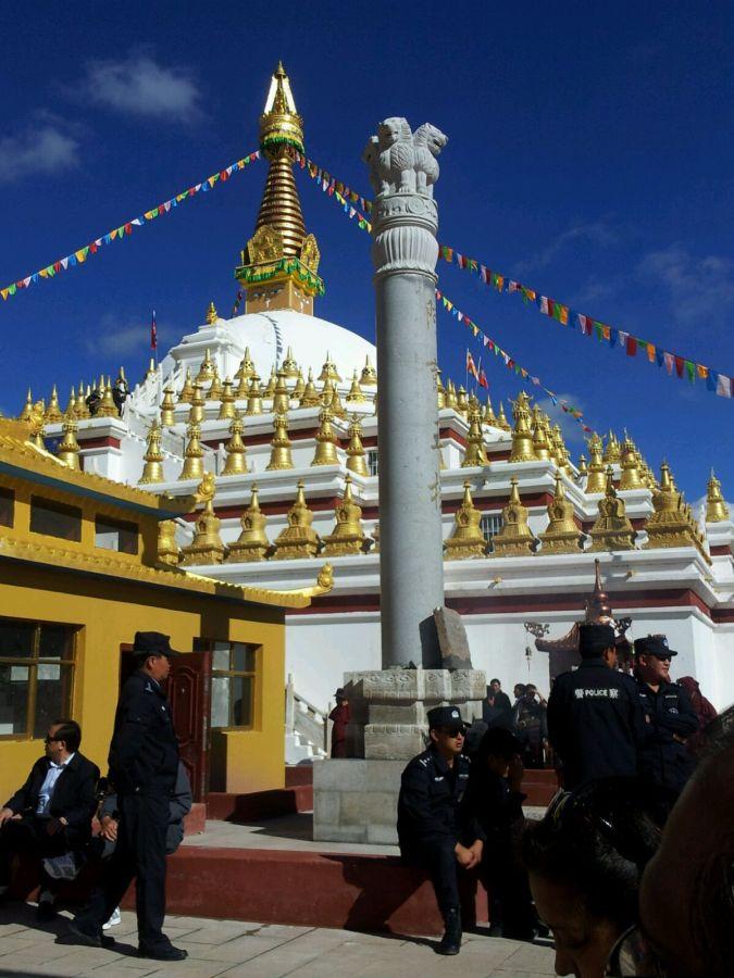 Inauguration of Ashoka Stupa_Nangchen_1