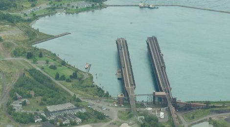 Two Docks [original image by  pmarkham
