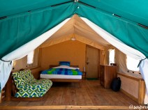 Luxury tent - interiors