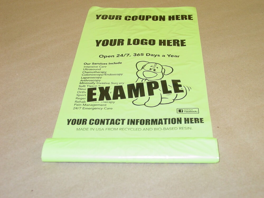 Bio-Buddy Dog Waste Bags-Pickup Solutions and Dog Owner Targeted - Coupon Book Printing