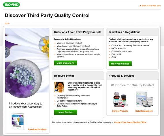 Quality Control Clinical Diagnostics Bio-Rad