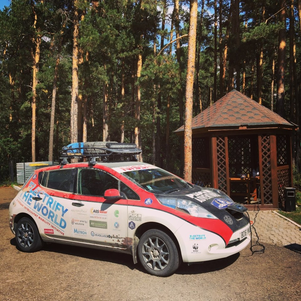 Plug In Adventures becomes first team to complete epic Mongol Rally challenge in all-electric car