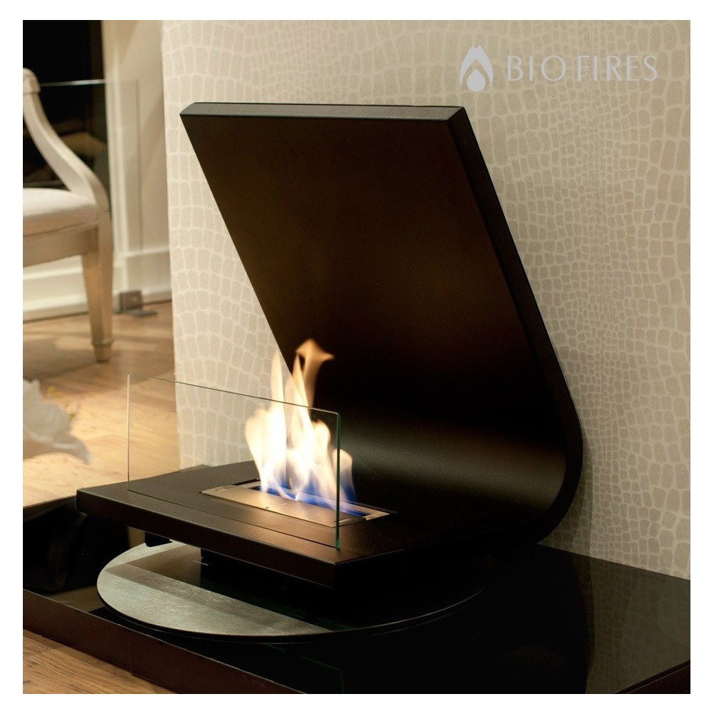Allure Freestanding Bio Fireplace Bio Fires Gel