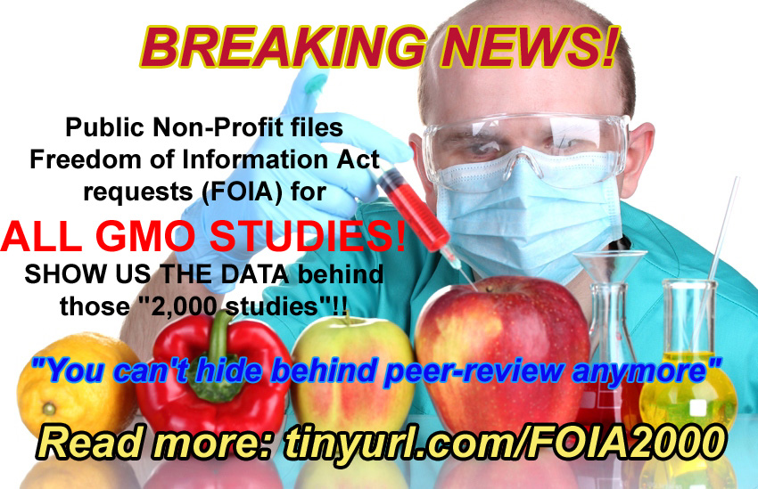 April Fools: FoIA requests expand to all published academic GMO research