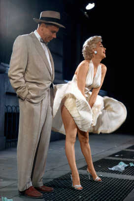 Boy And Girl Wallpaper With Quotes Behind The Scenes Of Marilyn Monroe S Iconic Flying Skirt