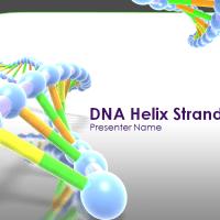 Πρότυπο powerpoint με θέμα το DNA