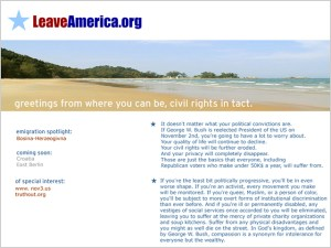 LeaveAmerica.org