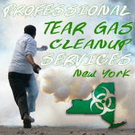 Tear Gas Cleanup Services NY