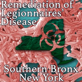 Legionnaires Testing and Remediation Southern Bronx