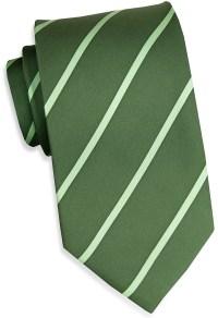 Single Stripe: Tie - Green - Bird Dog BayBird Dog Bay