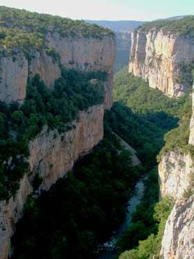 Foz, or gorge, of Arbayún
