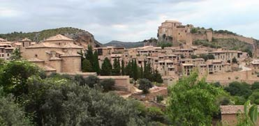 Alquezar in the Sierra de Guara.