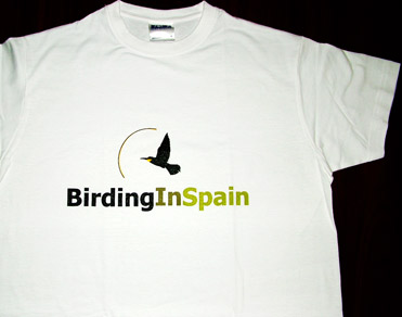 BirdingInSpain.com t-shirt