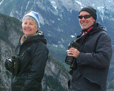 Mary and Clive in the Pyrenees