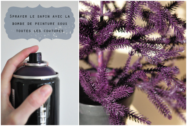 DIY Sapin de Noël en couleur